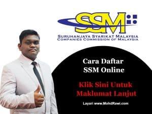 Cara Daftar SSM