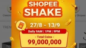 Shopee coin Reward
